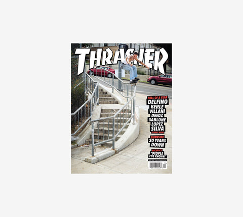Thrasher Mag Dec20 Issue #485