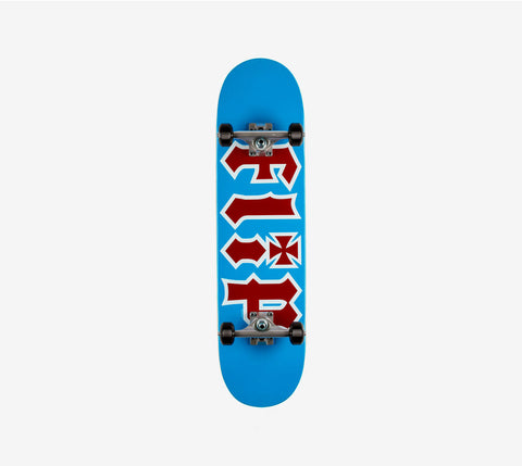Flip Hkd Team Complete Skateboard Blue