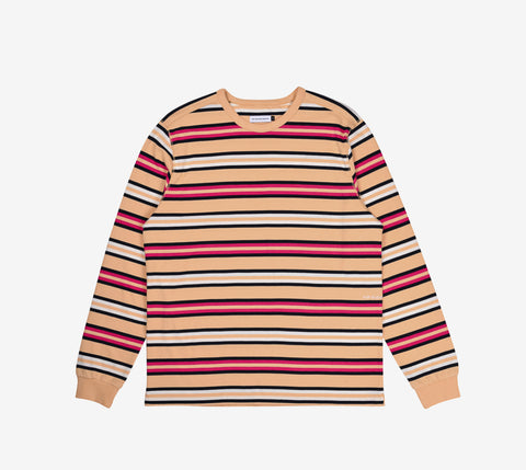 Pop Trading Co Striped Longsleeve T-shirt