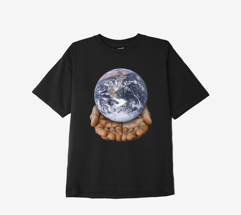 Obey Our Planet in Your Hands T-shirt