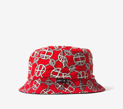 Huf Red Rope Bucket Hat