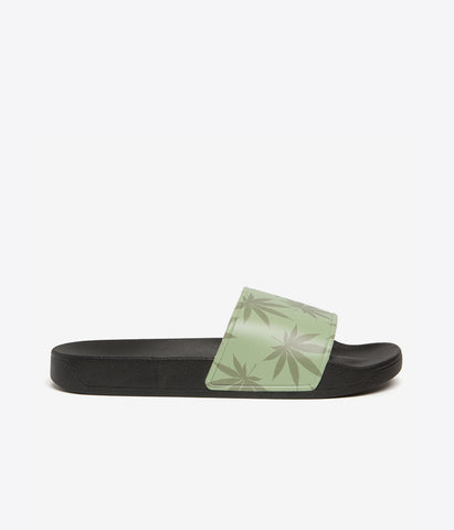 Huf 420 Plantlife Slides - Green