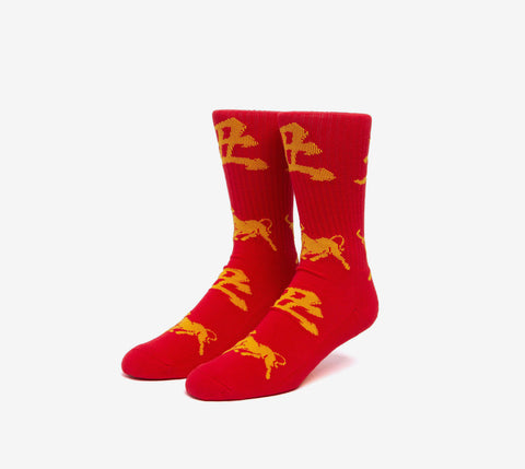 HUF Year Of The Ox Crew Sock