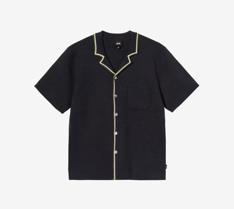 Stussy Stripe Edge Knit Shirt