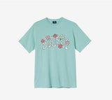 Stussy Flower Collegiate Pig Dyed T-Shirt