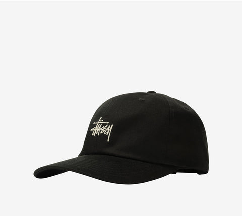Stussy Stock Low Pro Cap Black