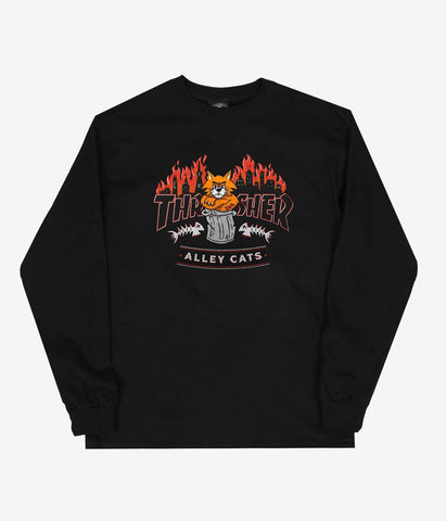 Thrasher Alley Cats L/S T-Shirt