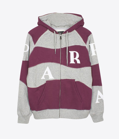 Parra Wavey Stripes Hooded Vest
