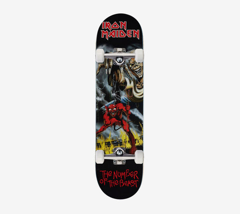 Zero Number of the Beast Complete Skateboard 8 inch