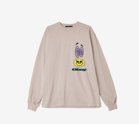 Obey Acid Crash L/S Tee - Ben-G skateshop