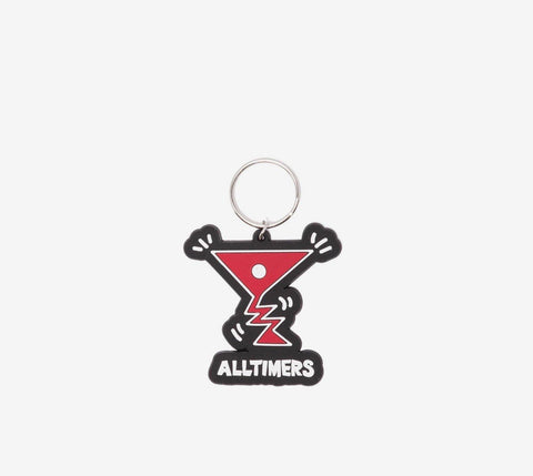 Alltimers Action Logo Key Chain
