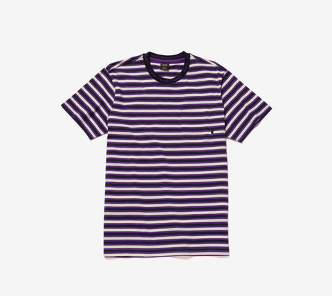 Huf Alex Stripe S/S Shirt - Ben-G skateshop