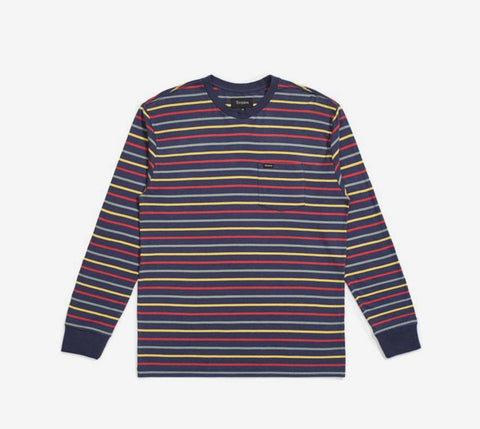 Brixton Hilt L/S Pocket Washed - Ben-G skateshop