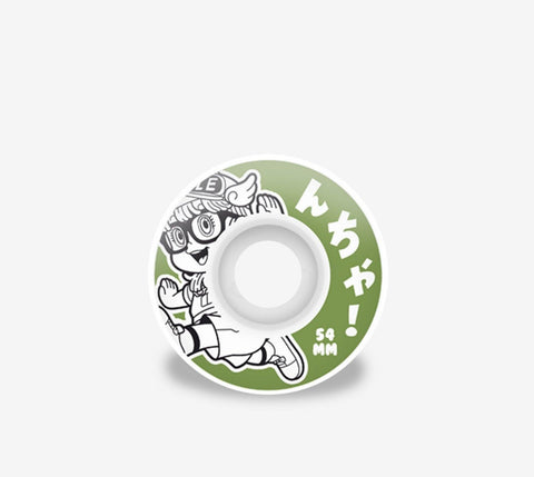 Hydroponic Arale Wheels Green - Ben-G skateshop
