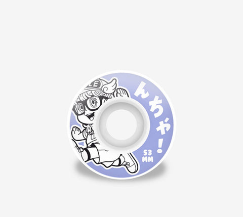 Hydroponic Arale Wheels Purple - Ben-G skateshop