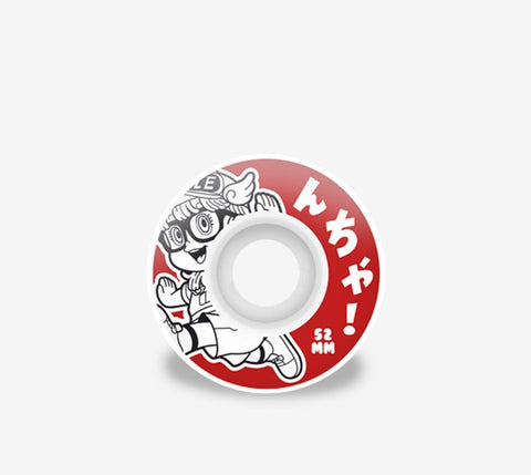 Hydroponic Arale Wheels Red - Ben-G skateshop