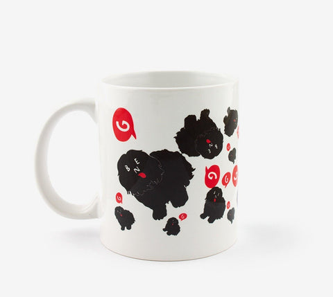 Ben-G Allover Dog Mug - Ben-G skateshop