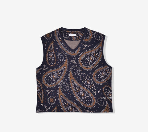 Pop Knitted Paisley Spencer - Ben-G skateshop