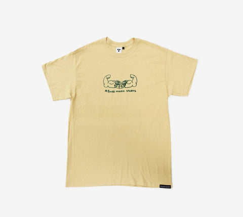 Valuta Muscles Tee - Ben-G skateshop