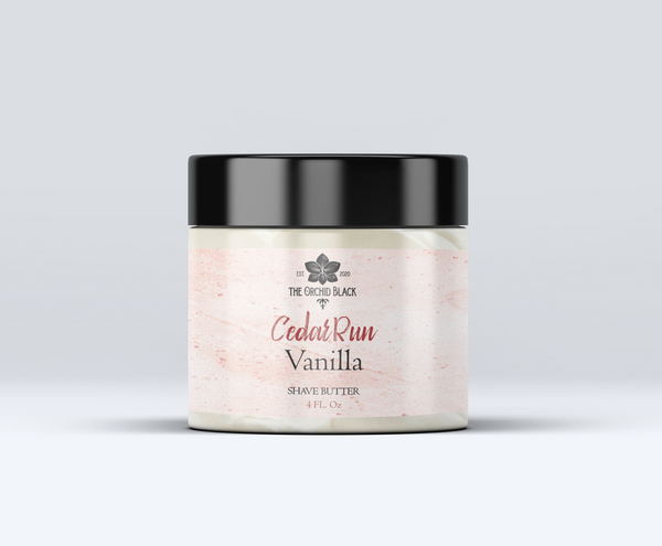 CedarRun All-Natural Whipped Shave Butter
