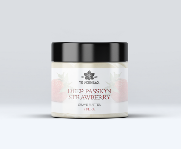 Deep Passion Strawberry All Natural Shave Butter