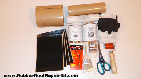 DIY Rubber Roof Repair KIT (EPDM)