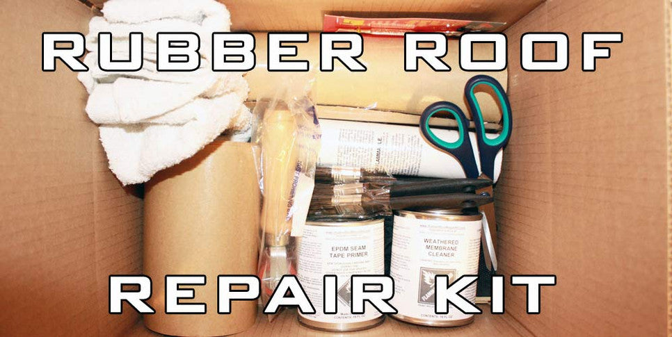 DIY Rubber ROof Repair Kit