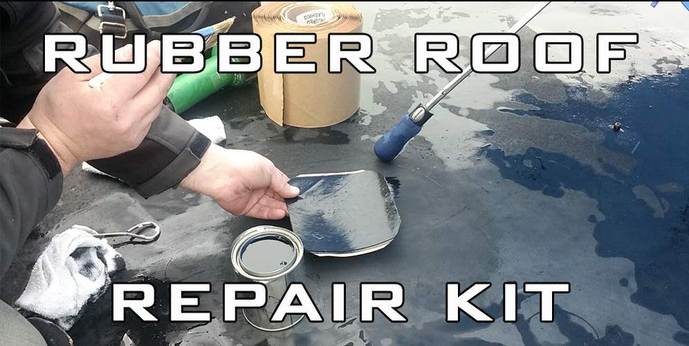 How to repair Rubber Roof