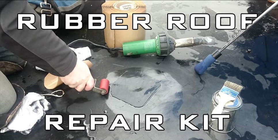 DIY Rubber Roof Repair Instructions