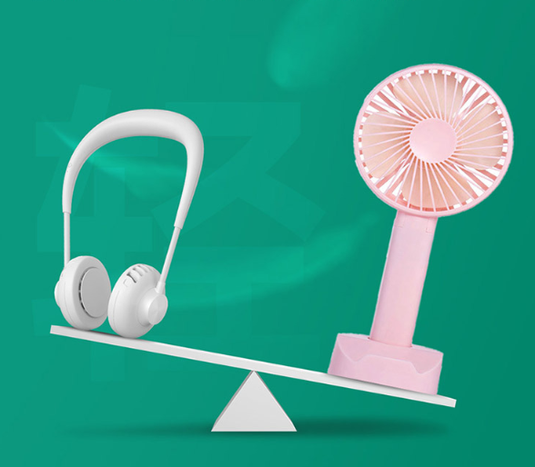 The Pastels Mini Neck Fan