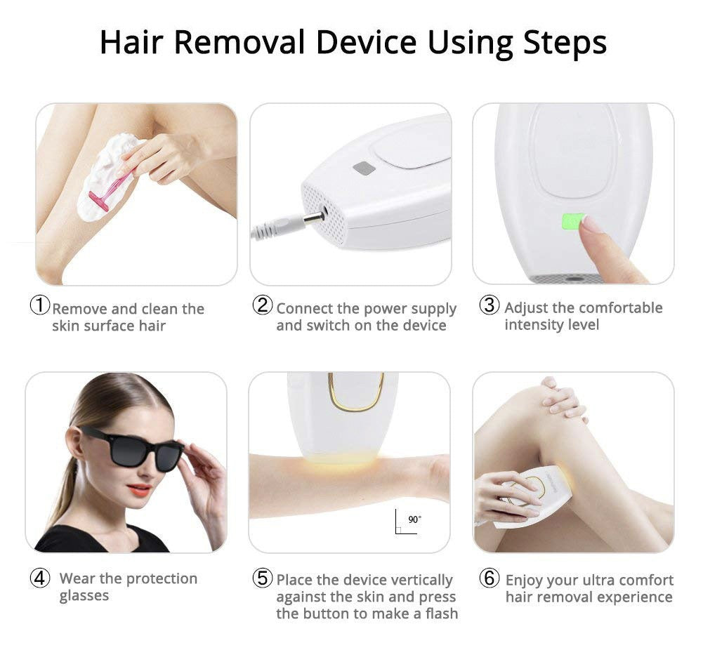 No Hair, No Pain IPL Hair Remover