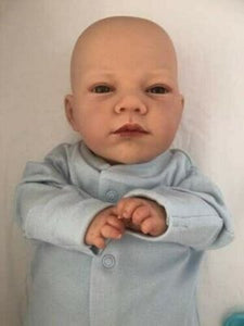Reborn Baby Boy Doll Archie Open Eyes