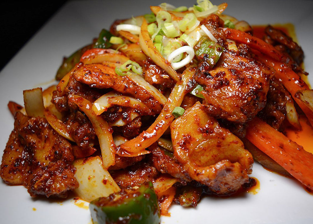 Spicy Stir-Fried Pork 제육 볶음