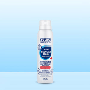 Zytec Germ Buster Sanitizer Spray Extra Strength 80% 100ml (3 Bottles) - CanMedic Tech