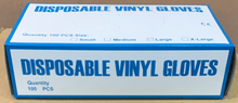 Load image into Gallery viewer, Disposal Vinyl Gloves (Small) - CanMedic Tech