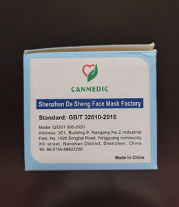 CanMedic Non-Medical Disposable Mask - CanMedic Tech