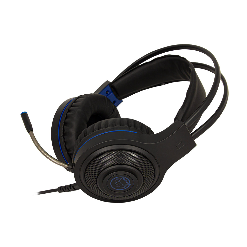 Atlanta gaming headset  - blauw