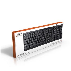 Liverpool wired keyboard - zwart