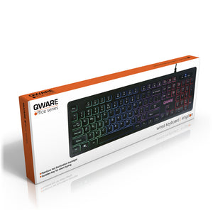 Kingston wired keyboard - zwart
