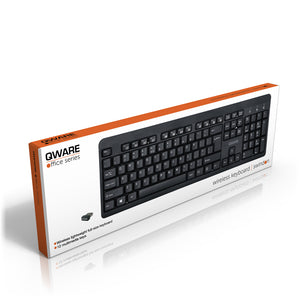 Swindon wireless keyboard - zwart