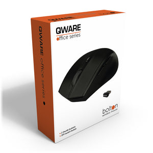Bolton wireless mouse - zwart