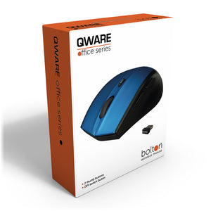 Bolton wireless mouse - blauw