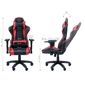 Qware Gaming Chair Taurus - rood