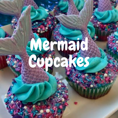 Mermaid Cupcakes kit