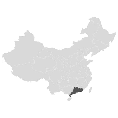 Orchid Oolong origin, Guangdong province in China.