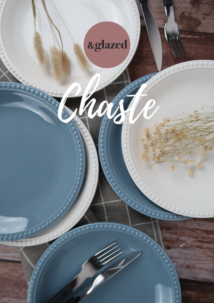 Chaste dinnerware by andglazed