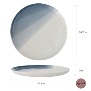 Seaside Blue 10-inch Large Base Plate