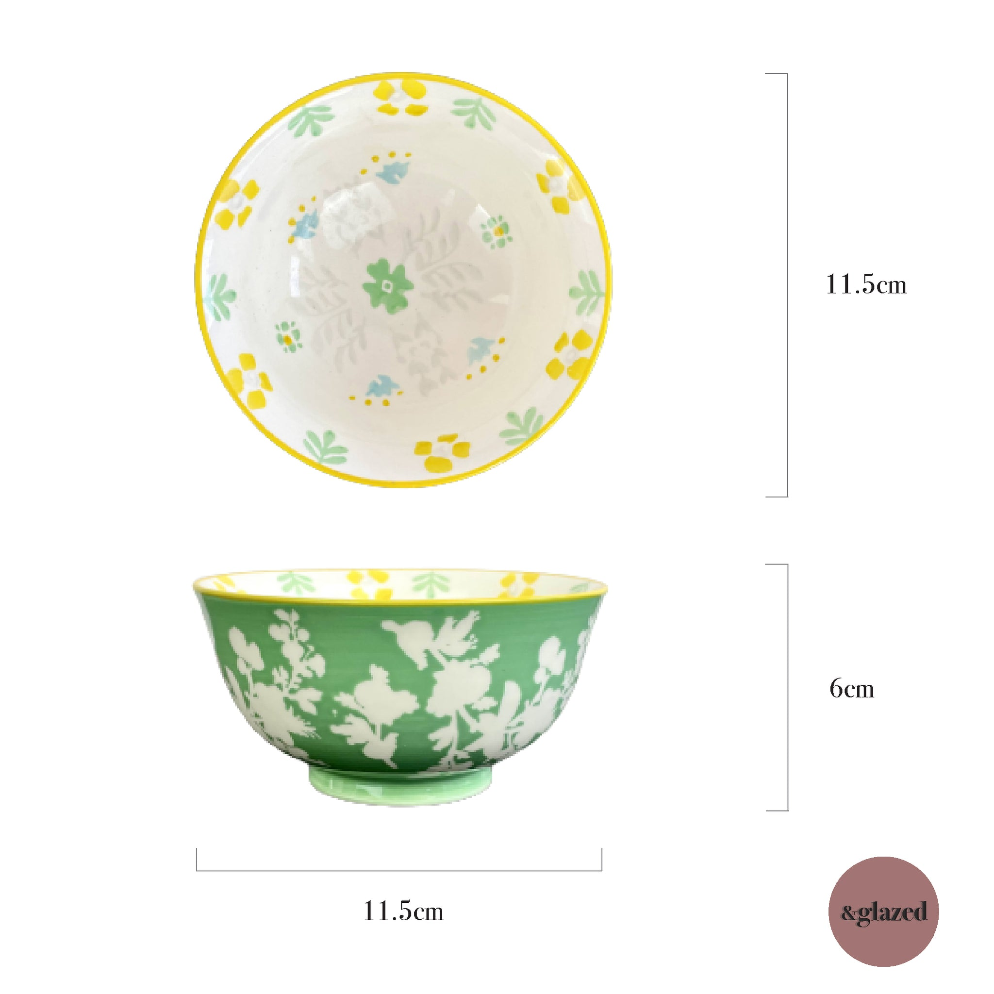 Baltic Florals 4.5-inch Small Bowl - En