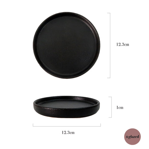 Charcoal 4.8-inch Small Base Plate