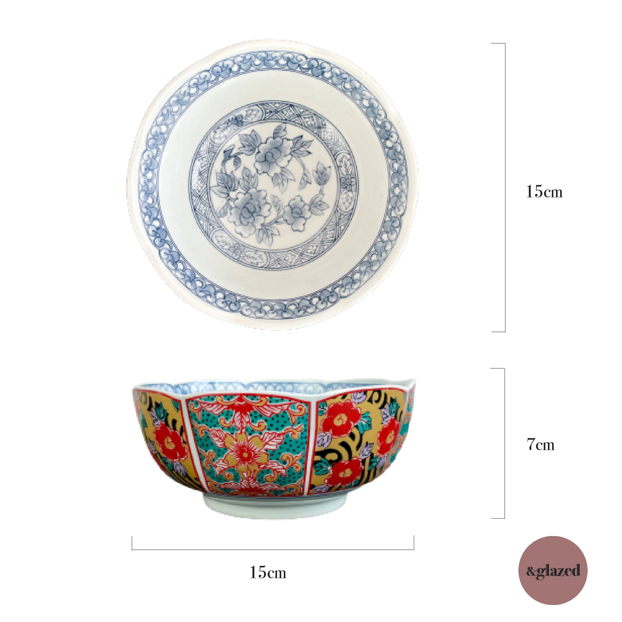 Orients 6-inch Small Bowl - Jin